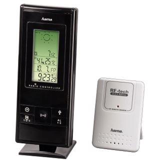 Hama Elektronische Wetterstation EWS-370, Schwarz