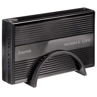 "3.5""(8,89cm) Hama Externes Gehäuse Mobile Life SATA USB 2.0"