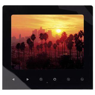 "8,0""(20,32cm) Hama Digitaler Fotorahmen Slim Touch 800x600 256MB Schwarz"