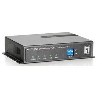 LevelOne Converter 10-100/VDSL2 VDS-0120 Ethernet