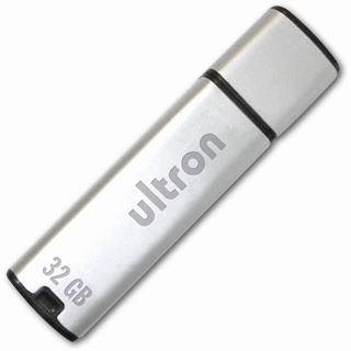 32GB Ultron MLC 63854 Silber USB 2.0 Stick