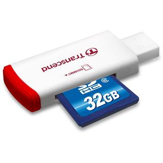 32 GB Transcend Standard SDHC Class 6 Retail inkl. Adapter