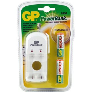 GP Batteries Akku Ladegerät PowerBank S350