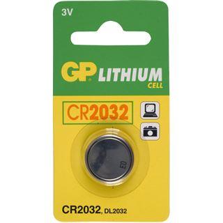 GP Batteries Knopfzelle CR2032 Lithium 3.0 V 1er Pack