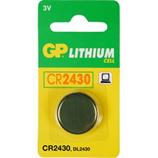 GP Batteries Knopfzelle CR2430 Lithium 3.0 V 1er Pack