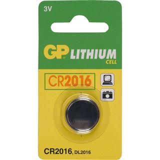 GP Batteries Knopfzelle CR2016 Lithium 3.0 V 1er Pack