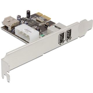 Delock PCI Express x1 FireWire A 2+1 Port