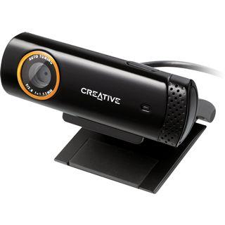 Creative Web Kamera Live Cam Socialize 1.3 MPixel 1280x720 Schwarz