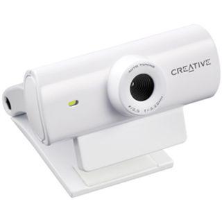 Creative Web Kamera Live Cam Sync 0.5 MPixel 800x600 Weiß USB