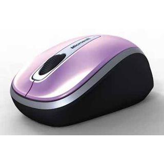 Microsoft Wireless 3500 Dragon Fruit Optische Maus Pink USB