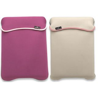 "Manhattan Notebook Sleeve 14.1"" (35,81cm) Pink / Beige"