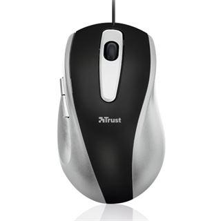 Trust EasyClick Mouse USB schwarz/grau (kabelgebunden)
