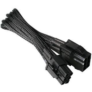 NZXT schwarzes 25cm 6-Pin Stromverbindungskabel für Grafikkarten