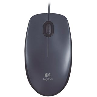 Logitech M100 USB schwarz (kabelgebunden)