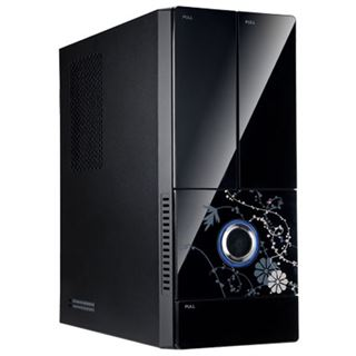 IN WIN Black Beauty Mini Tower 300 Watt schwarz