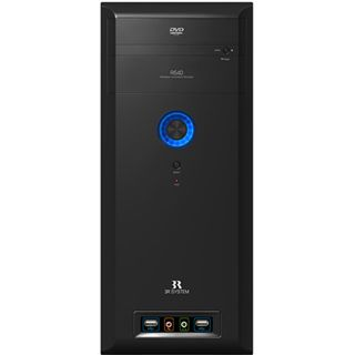 3R Systems R640 Midi Tower ohne Netzteil schwarz
