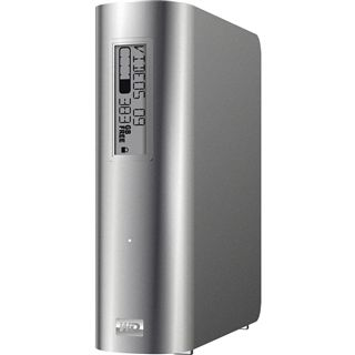 "HDE 2000GB WD My Book Studio Edition 3.5"" (8.89cm) Silber"
