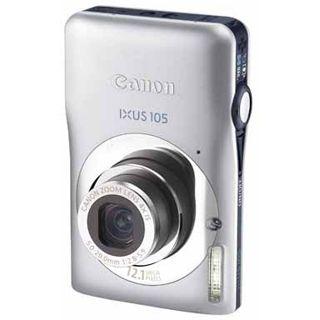 Canon Ixus 105 Digitalkamera Silber