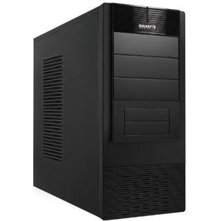 Gigabyte Luxo X140 Midi Tower ohne Netzteil schwarz