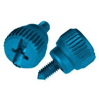 Lian Li 20x blaue werkzeuglose Rändelschrauben für