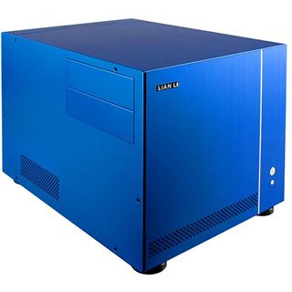 µATX Lian Li Simple & Stylish PC-V351I Cube Gehäuse o.NT Blau