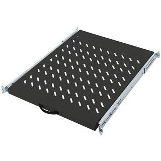 Digitus ausziehbarer Fachboden für Netzwerk- und Serverschränke schwarz (DN-19 TRAY-2-800-SW)