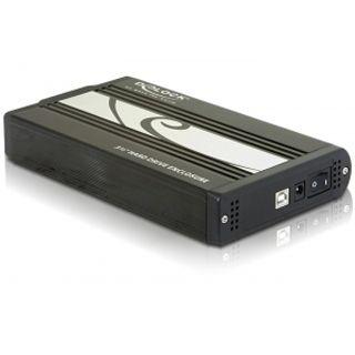 """Delock 42402 3.5"""" (8,89cm) USB 2.0 schwarz/braun"""