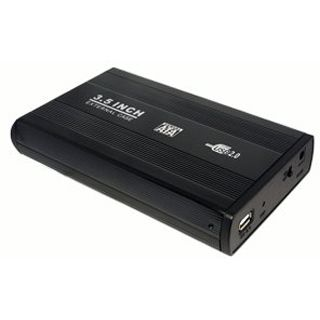 "LogiLink UA0082 3.5"" (8,89cm) USB 2.0 schwarz"