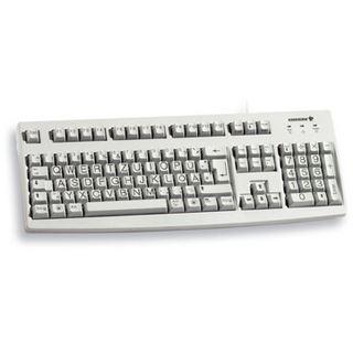 CHERRY G83-6236LUNDE-0 USB Deutsch weiß (kabelgebunden)