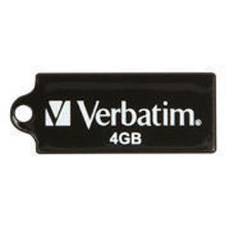 4 GB Verbatim Store `n` Go Micro schwarz USB 2.0