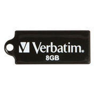 8 GB Verbatim Store `n` Go Micro schwarz USB 2.0