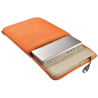 LaCie Coat Laptop Case 33cm(13 Zoll) orange