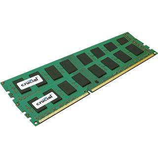 4GB Crucial Value DDR3-1333 DIMM CL9 Dual Kit