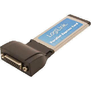 LogiLink Schnittstelle Express Card 1x Paralell