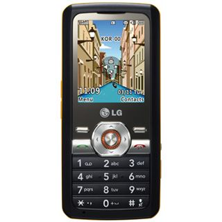 LG GM205 Brio black orange
