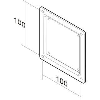 Newstar Adapterplatte für Wandmontage (FPMA-VESA100)