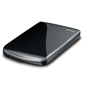 """500GB Buffalo MiniStation Lite 2.5"""" (6,35cm) Schwarz USB2.0"""