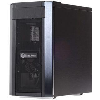Silverstone Sugo SG03B-F Mini Tower ohne Netzteil schwarz