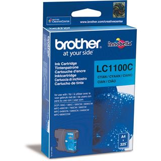 Brother Tinte LC1100C cyan