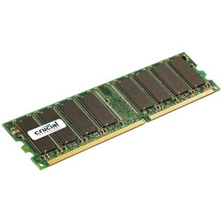 1GB Crucial CT12864Z40B DDR-400 DIMM CL3 Single