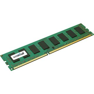 4GB Crucial Value DDR3-1333 DIMM CL9 Single