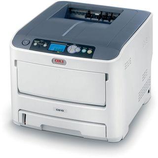 OKI C610dn Farblaser Drucken LAN/USB 2.0