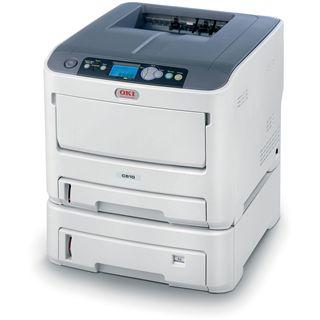 OKI C610dtn Farblaser Drucken LAN/USB 2.0