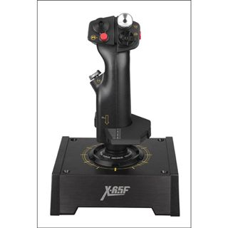 Saitek X65F Pro Flight Combat Control System inklusive Schubkontrolle USB schwarz PC