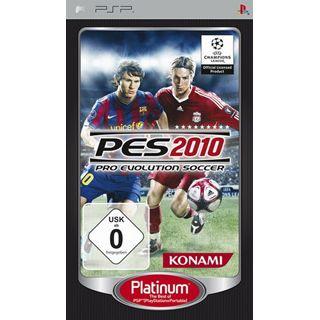 Pro Evolution Soccer 2010 - Platinum (PSP)