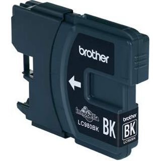 Brother Tinte LC980BKBP2 schwarz