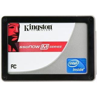 """80GB Kingston M Series 2.5"""" (6.4cm) SATA 3Gb/s MLC asynchron"""