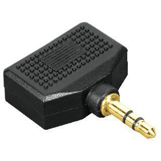Hama Audioadapter 3.5mm Klinke Stecker Stereo auf 2x3.5mm Klinke