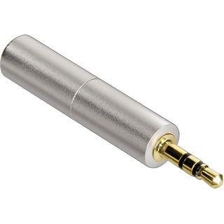 Hama Audioadapter 2.5mm Klinke Stecker Stereo auf 3.5mm Klinke Buchse