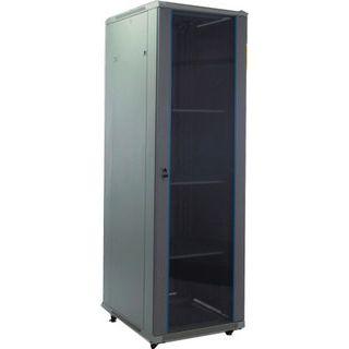 "19"" (48,26cm) Intellinet 205757 22HE Serverschrank hellgrau, 600mm tief"